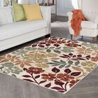 Highfill Transitional Cream Area Rug Rug Size: Rectangle 5'3'' x 7'3''