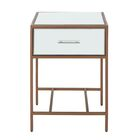 Naida End Table with Storage