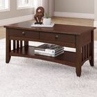Hornung Coffee Table with Storage Color: Cappuccino
