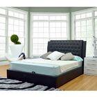 Burford Upholstered Storage Platform Bed Size: Queen, Color: Black