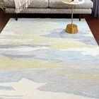 Jared Beige/Blue/Gold Area Rug Rug Size: Rectangle 8'6