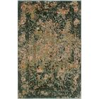 Stevan Hand-Knotted Wool Green Area Rug