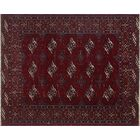 One-Of-A-Kind Treva Hand-Knotted Wool Red Area Rug