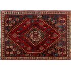 One-Of-A-Kind Brook Hand-Knotted Wool Red Area Rug