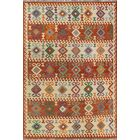 Corda Hand-Knotted Wool Brown Area Rug