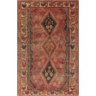 One-Of-A-Kind Brook Hand-Knotted Wool Red/Black Area Rug