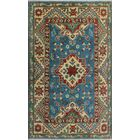Sharpe Hand-Knotted Wool Blue/Red Area Rug Rug Size: Rectangle 2'7