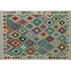 Corda Hand-Knotted Wool Red/Purple Area Rug