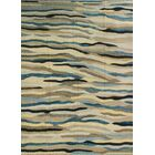 Dickie Hand-Knotted Wool Cream/Gray Area Rug