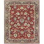 One-of-a-Kind Brokaw Genuine Oriental Hand-Knotted Wool Red Area Rug