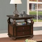 Charleen End Table with Storage