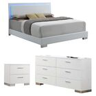 Gibby Upholstered Panel Configurable Bedroom Set