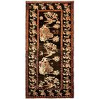 One-of-a-Kind Gasconade Hand-Knotted Runner 4'6
