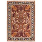 One-of-a-Kind Frontenac Hand-Knotted 4' x 6' Wool Orange Area Rug