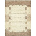One-of-a-Kind Didcot Hand-Knotted 3' x 4' Wool Cream/Brown Area Rug