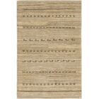 One-of-a-Kind Didcot Hand-Knotted 4' x 6' Wool Light Brown Area Rug