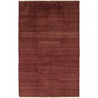 One-of-a-Kind Didcot Hand-Knotted 7' x 11' Wool Burgundy Area Rug
