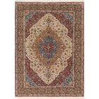 One-of-a-Kind Earby Hand-Knotted Wool Ivory/Brown Area Rug