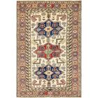 One-of-a-Kind Alayna Hand-Knotted Wool Beige/Brown Area Rug