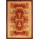 One-of-a-Kind Antique Hand-Knotted Wool Beige/Red Area Rug