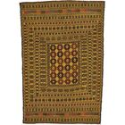 One-of-a-Kind Warminster Hand-Knotted Wool Brown Area Rug