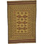 One-of-a-Kind Warminster Hand-Knotted Wool Yellow Area Rug