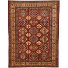 One-of-a-Kind Alayna Hand-Knotted Wool Red/Orange Area Rug
