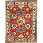 One-of-a-Kind Alayna Hand-Knotted Wool Green/Beige/Red Area Rug