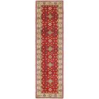 One-of-a-Kind Alayna Hand-Knotted Red Area Rug
