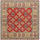 One-of-a-Kind Alayna Hand-Knotted Wool Red/Green Area Rug