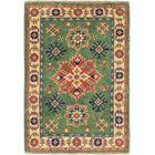 One-of-a-Kind Alayna Hand-Knotted Beige/Green Area Rug