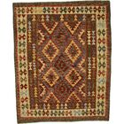 One-of-a-Kind Doorfield Hand-Knotted Wool 5'2
