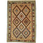 One-of-a-Kind Doorfield Hand-Knotted Wool 4'8