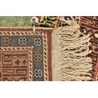 One-of-a-Kind Lahour Hand-Knotted Silk Light Green Area Rug