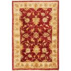 One-of-a-Kind Huntingdon Hand-Knotted  2' x 3' Wool Red/Tan Area Rug