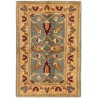 One-of-a-Kind Huntingdon Hand-Knotted  2' x 3' Wool Light Green/Tan Area Rug