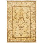One-of-a-Kind Huntingdon Hand-Knotted  2' x 3' Wool Ivory Area Rug