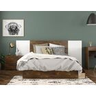 Eilene Platform 4 Piece Bedroom Set Size: Full, Color: Black/Truffle