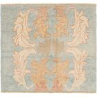 One-of-a-Kind Mart Square Hand-Knotted 4'2