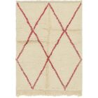 One-of-a-Kind Ilfracombe Hand-Knotted 3'4