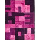 One-of-a-Kind Malmesbury Hand-Knotted Wool Pink/Purple Area Rug