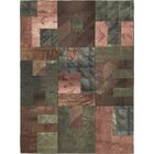 One-of-a-Kind Marazi Hand-Knotted Wool Green/Brown Area Rug