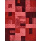 One-of-a-Kind Meltham Hand-Knotted Wool Red Area Rug