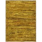 One-of-a-Kind Nash Hand-Knotted Wool Brown/Green Area Rug