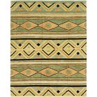 One-of-a-Kind Nash Hand-Knotted Wool Green/Beige/Brown Area Rug