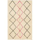 One-of-a-Kind Lodd Hand-Knotted Wool Beige Area Rug