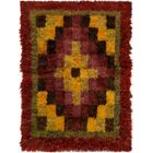 One-of-a-Kind Totnes Hand-Knotted Wool Red Area Rug
