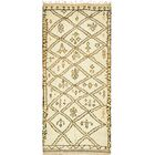 One-of-a-Kind Twickenham Hand-Knotted Wool Beige Area Rug