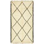One-of-a-Kind Wallsend Hand-Knotted Wool Beige Area Rug