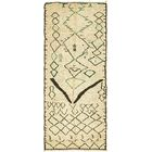One-of-a-Kind Walsall Hand-Knotted Wool Beige Area Rug